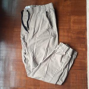 Tan Cargo Trousers